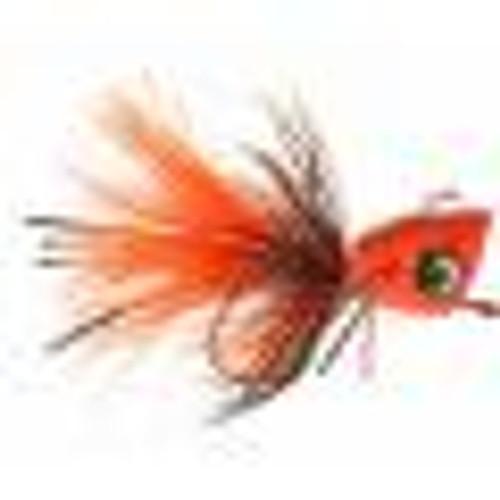 Bass Popper Orange Splatter 0623818
