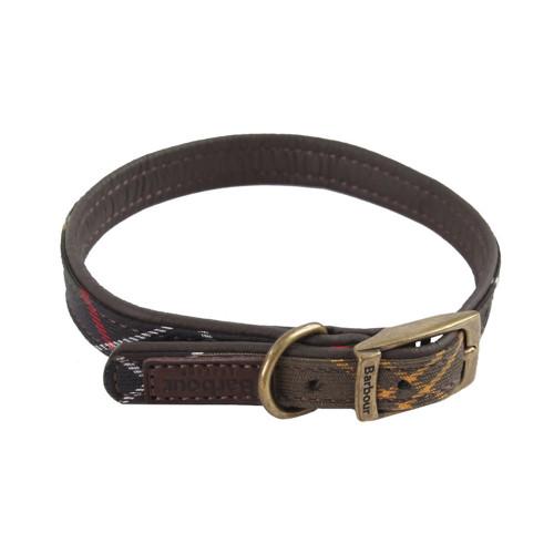 Classic Tartan Leather Collar40083
