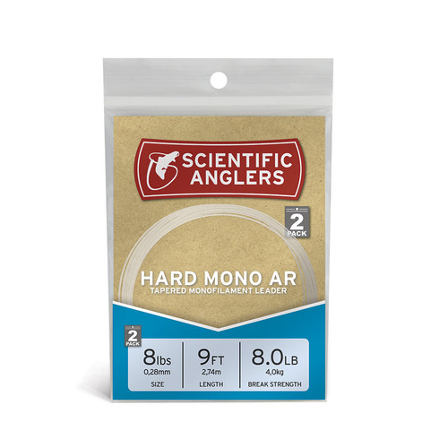 Hard Mono AR Leaders 9ft- 20# Clear22273