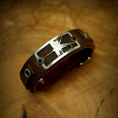 Dry Fly Bracelet- Brown32810