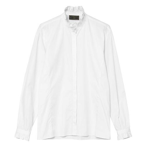 Ladies Pie Crust Collar Shirt49776