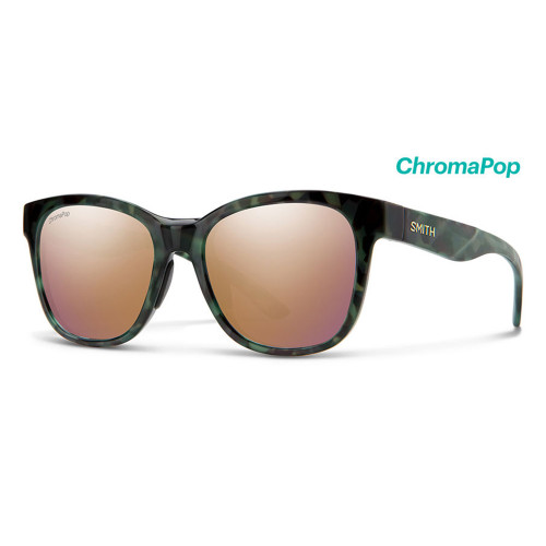 Caper Camo Tortoise Frame/ ChromaPop Polarized Rose Gold Lens45481