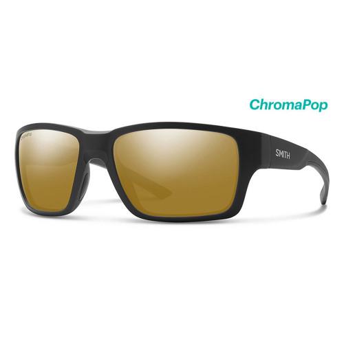 Outback Matte Black Frame/ ChromaPop Polarized Bronze Mirror Lens45860