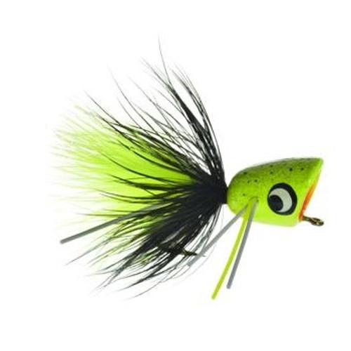 Bass Popper Chartreuse Splatter 1023803
