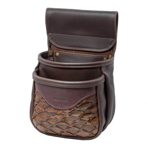 Double Arapaima Shell Bag Chocolate47349