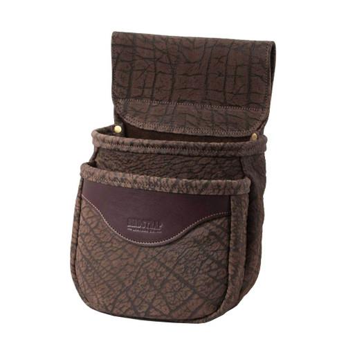 Double Cape Buffalo Shell Bag Chocolate47336