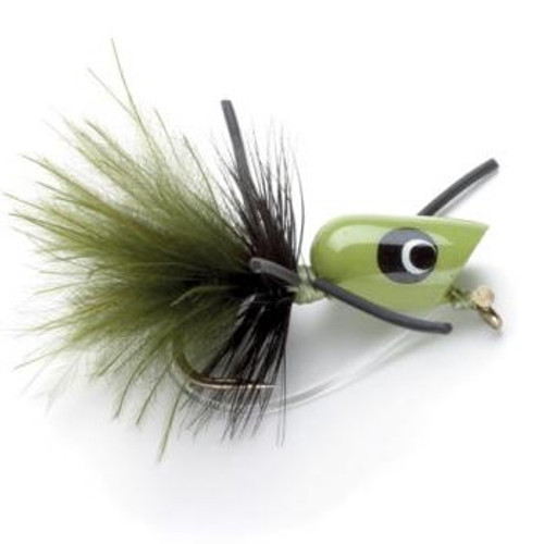 PANFISH POPPER WDLS GREEN 1023898