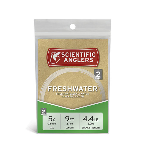 Freshwater Leader 9ft- 14# Clear22260