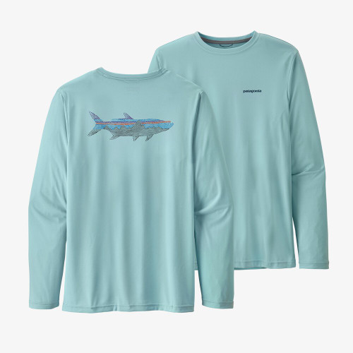 M's LS Cap Cool Daily Fish Graphic Shirt53076