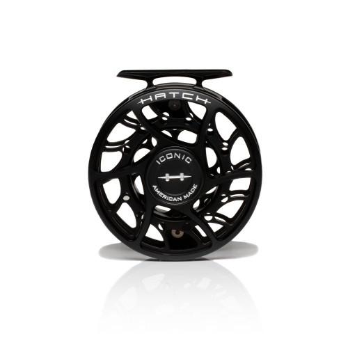 Hatch Iconic 5 Plus Black/Silver Mid Arbor Reel53723