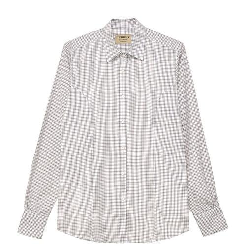 Ladies Tattersall Check Shirt50099