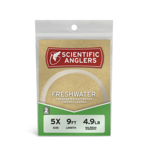 Freshwater Leader 9 ft - 16# - Clear38566