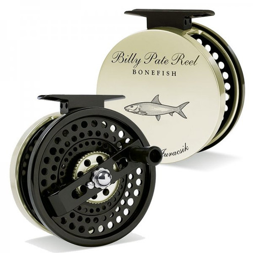 Billy Pate A/R Reel Gold with Bonefish Engraving42114