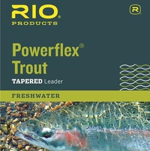 Rio Powerflex Trout Leader 9ft 1X36363