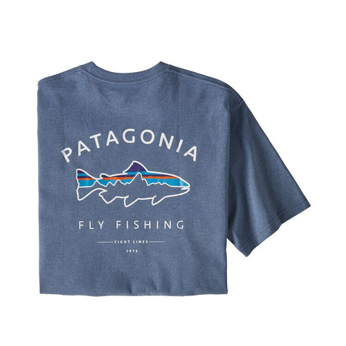M's Framed Fitz Roy Trout Responsibili-Tee49651