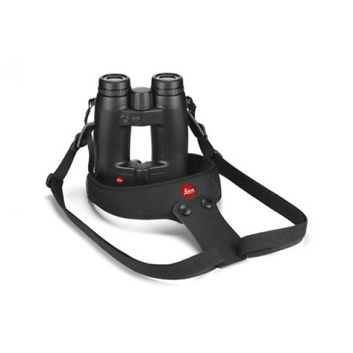 Leica Neoprene Binocular Sport Strap, Pitch Black13415