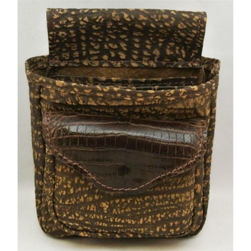 Shell Bag- Crocodile/Cape Buffalo36578