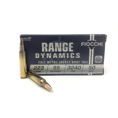Fiocchi Range Dynamics 223 FMJ 55gr 50 rounds54272