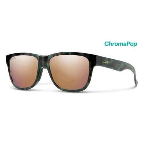 Lowdown Slim 2 Camo Tortoise Frame/ ChromaPop Polarized Rose Gold Mirror Lens45477