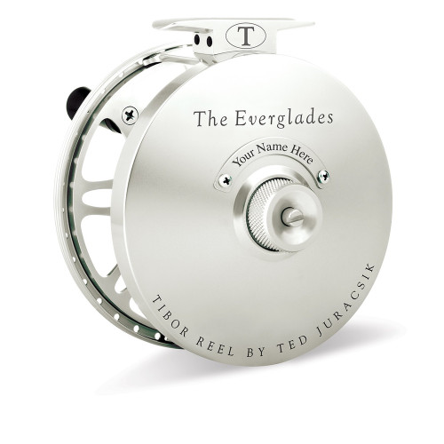The Everglades Reel Frost Silver36376