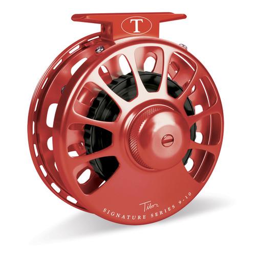Signature Series 9-10wt Red Reel with Black Hub33584
