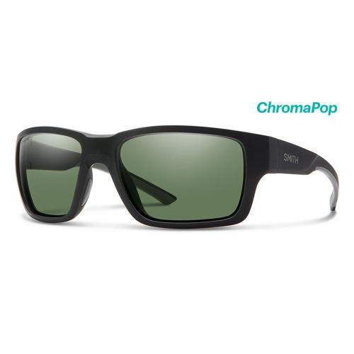Outback Matte Black Frame/ ChromaPop Polarized Grey Green Lens39570