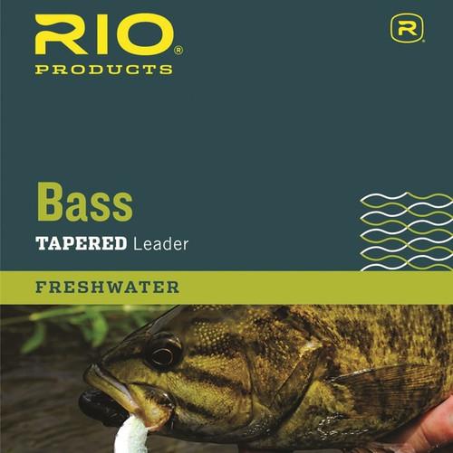 RIO Bass Leader 9' 10LB 3 Pack49443