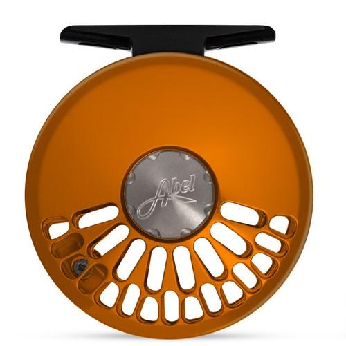 Abel TR 4/5 Orange Reel Rosewood Handle54243
