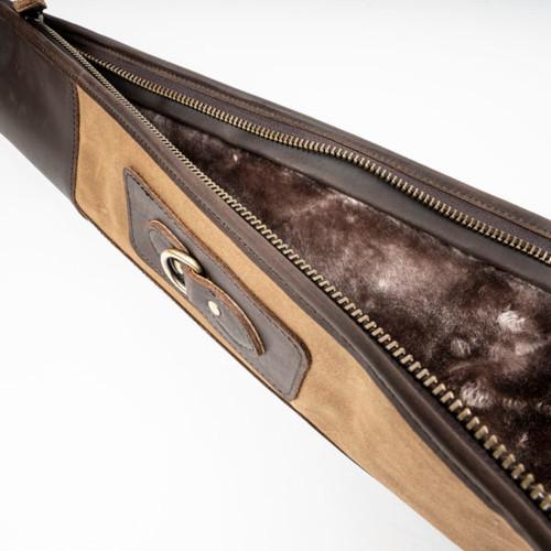 Canvas & Leather Shotgun Case50498