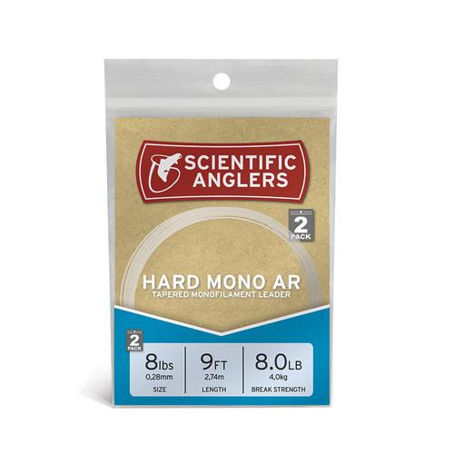 Hard Mono AR Leaders 9ft- 12# Clear22271