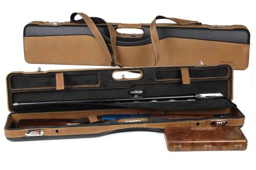 Negrini OU/SxS/Auto/Pump Unicase Travel Shotgun Case 16406PLX-UNI40836