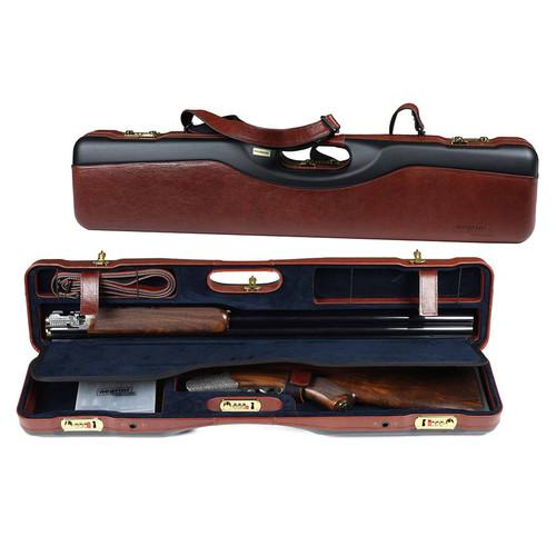 Negrini OU/SxS Leather Ultra Compact Shotgun Case 16405PLX40989