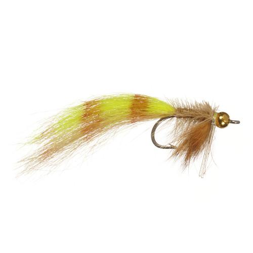 Kraimers Chartreuse/Tan Redfish Bedhead 234571