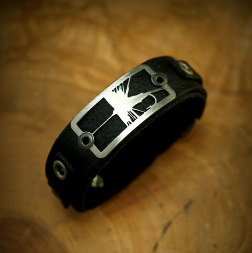 Dry Fly Bracelet- Black32809