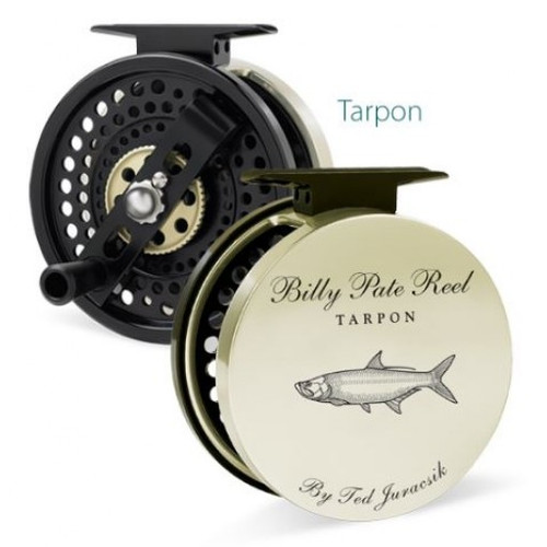 Billy Pate A/R Left Hand Reel Gold with Tarpon Engraving32781