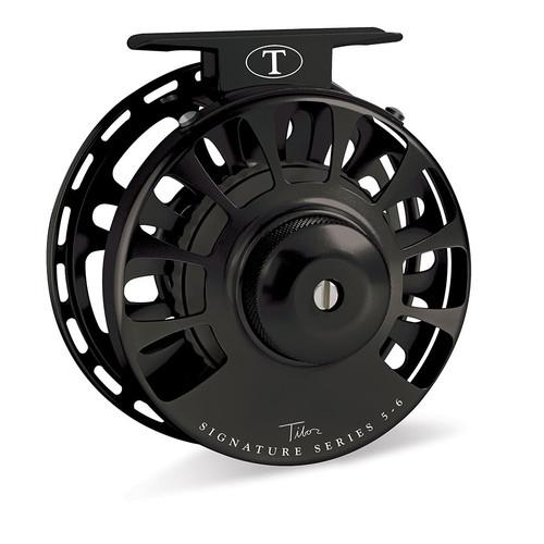 Signature Series 5-6wt Frost Black Reel with Black Hub33571