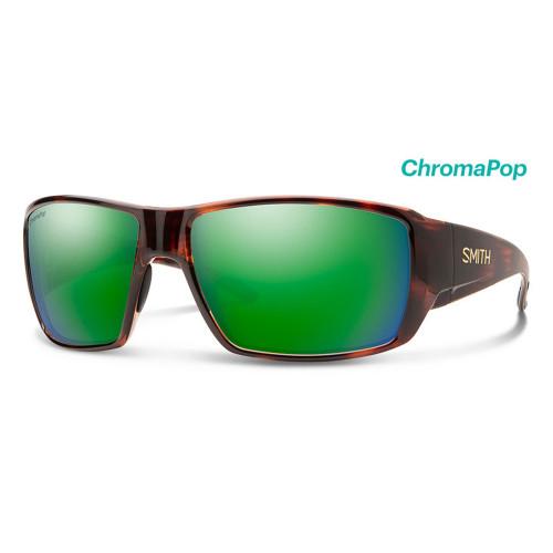 Guide's Choice Matte Black Frame/ Glass ChromaPop Polarized Green Mirror Lens51460
