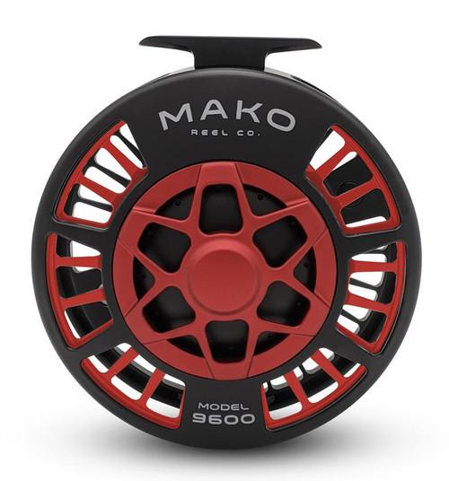 Mako Inshore 9600B LH Matte Red Reel53238