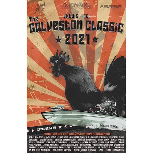 Galveston Classic 2021 Propaganda Poster53884