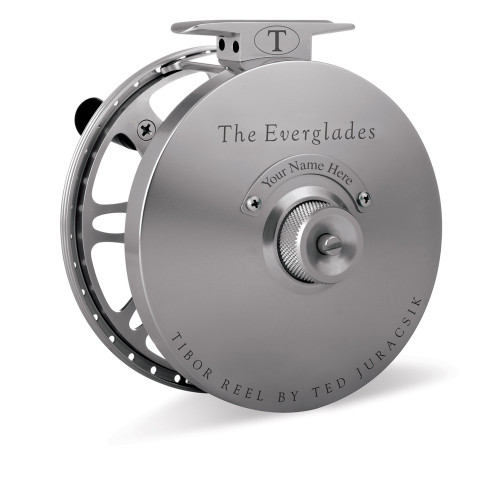 The Everglades Reel Matte Graphite with Bonefish Engraving36375