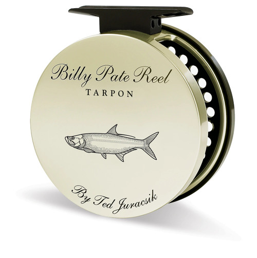 Billy Pate A/R Reel Gold with Tarpon Engraving33569