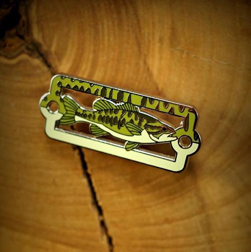 Native Bass Enamel Badge Pin39081