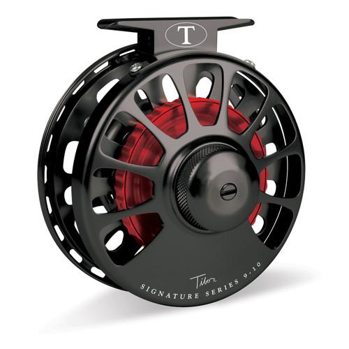 Signature Series 9-10wt Black Reel Red Hub32744