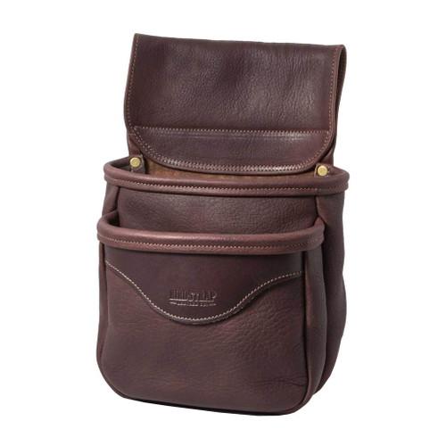 Double Bison Shell Bag Chocolate47320