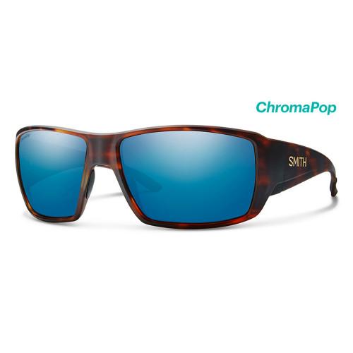 Guide's Choice Matte Havana Frame/ Glass ChromaPop Polarized Blue Mirror Lens39198