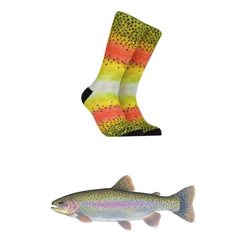 Reel Threads Rainbow Trout Socks52385