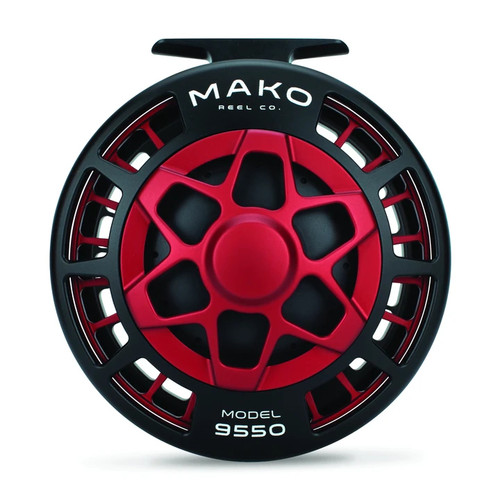 Mako Inshore 9550-810 LH Matte Red Reel53228