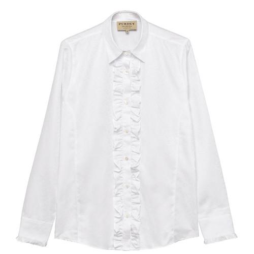 Ladies Ruffled Shirt49786