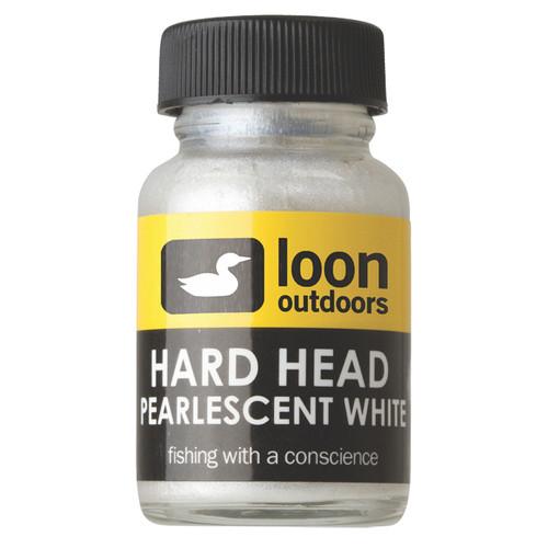 Loon Hard Head White Pearlescent13569