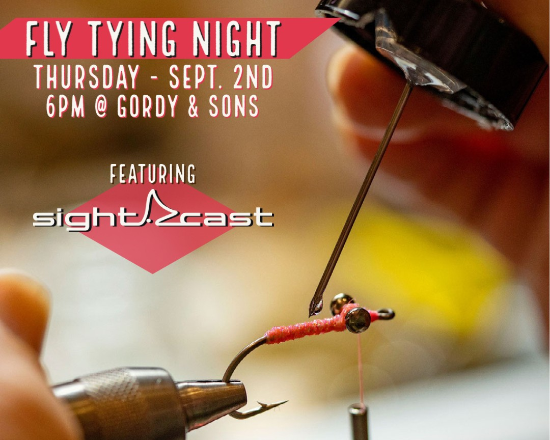 Fly Tying Night with Sight Cast Fishing